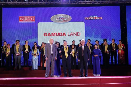 Gamuda Land nhận giải nhà kiến tạo đô thị xuất sắc 2017