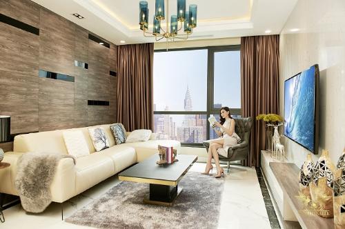 Căn hộ Sunshine City với lối thiết kế đẳng cấp, sang trọng thỏa mãn nhu cầungười mua nhà.