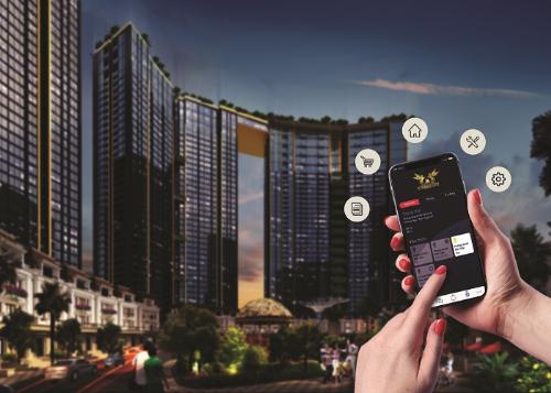 Các ứng dụng công nghệ 4.0 thông minh mang đến một cuộc sống tiện ích, hiện đại cho cư dân Sunshine City.