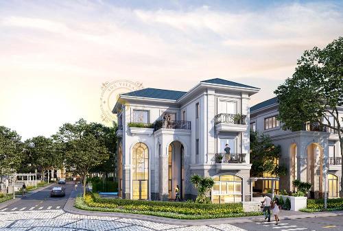 Khu biệt thự Sol Villas do người Pháp cố vấn về kiến trúc