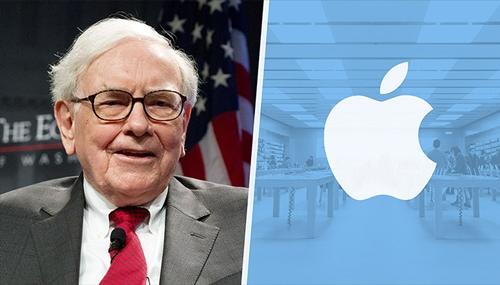 Warren Buffett gần đây rất chuộng cổ phiếu Apple. Ảnh: AFP, CNN