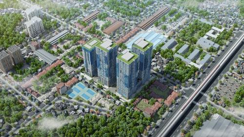 Phong cách sống Mỹ tại dự án căn hộ chung cư cao cấp phố Nguyễn Tuân