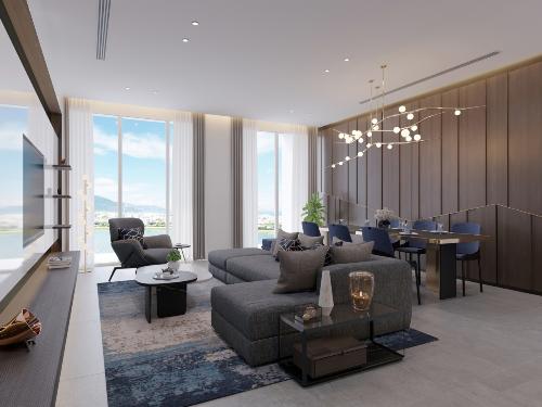 Tháp đôi 1.800 tỷ tại Đà Nẵng ra mắt phân khu căn hộ nghỉ dưỡng