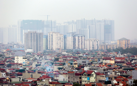 Một số chủ đầu tư dự án chung cưtại thị trường Hà Nội đang gặp không ít khó khăn trong việc bán hàng. Ảnh: Ngọc Thành
