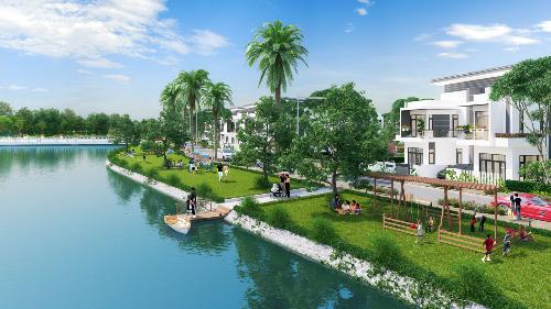 Không gian sống 'resort' của giới thượng lưu tại Bella Villa