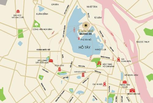 Dự án đất vàng của Tân Hoàng Minh chào bán tòa căn hộ cho thuê