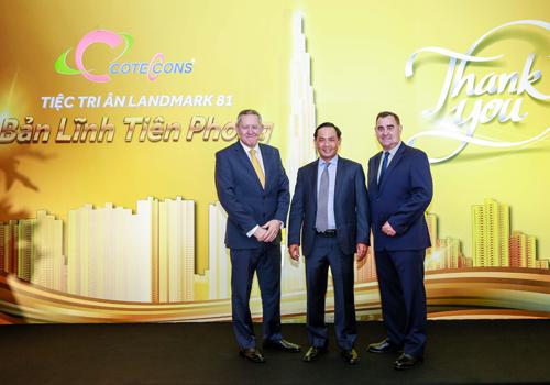 Hơn 100 đơn vị xây dựng tòa tháp cao nhất Việt Nam