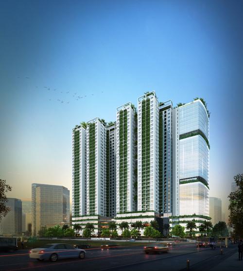 Mở bán 140 căn officetel dự án Ecolife Capitol