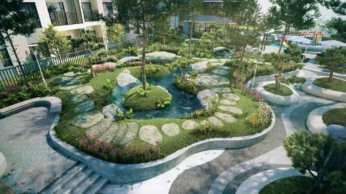The ZEN Residence có mật độ phủ xanh tới 16%