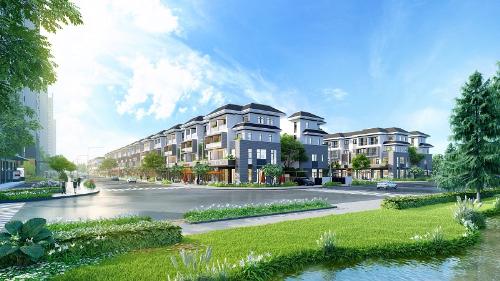 Hạ tầng phát triển, biệt thự mặt tiền khu đô thị Cát Lái, quận 2 hưởng lợi