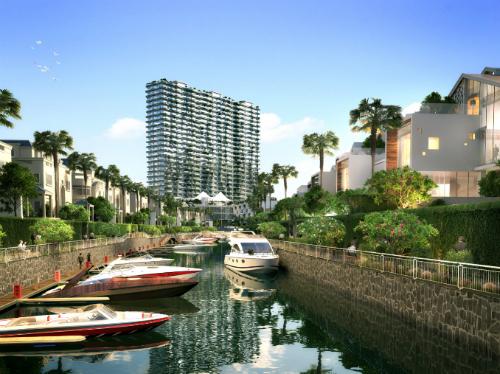 Dự án hạng sang khu Nam Sài Gòn xây bến du thuyền triệu USD