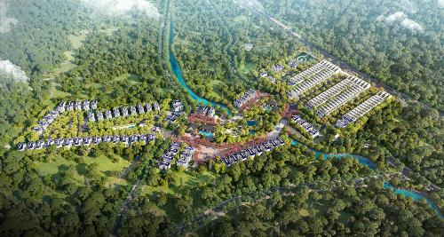 Các đối tác bắt tay phát triển dự án Royal Streamy Villas