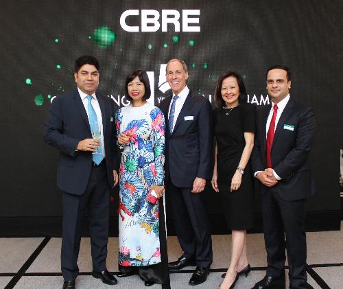 15 năm định vị trên thị trường bất động sản Việt Nam của CBRE