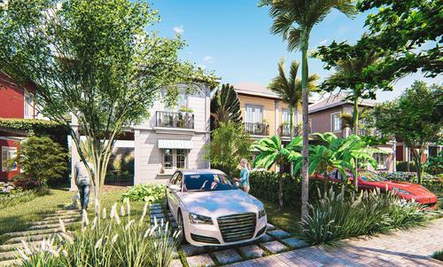 Phú Vinh Group phát triển biệt thự vườn vùng giáp ranh Sài Gòn