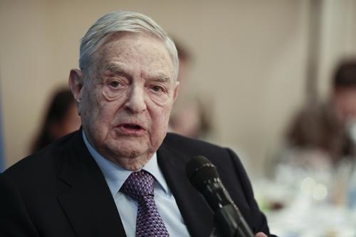 Tỷ phú đầu tư nổi tiếng của Mỹ -George Soros. Ảnh: Bloomberg