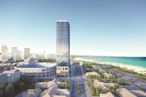 Ocean Gate Nha Trang đạt giải kiến trúc tại BCI Asia Awards