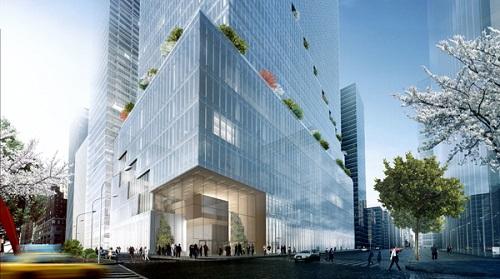 Dự án cao 65 tầng, khởi công vào tháng 6/2018 và dự kiến hoàn thành vào năm 2022.