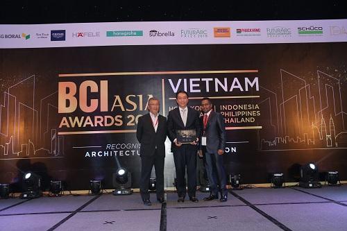 SonKim Land đạt giải thiết kế nội thất BCI Interior Design Awards 2018