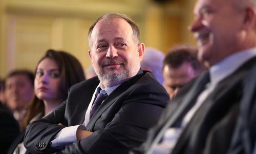 Vladimir Lisin hiện sở hữu khối tài sản trị giá 20,2 tỷ USD. Ảnh: Bloomberg