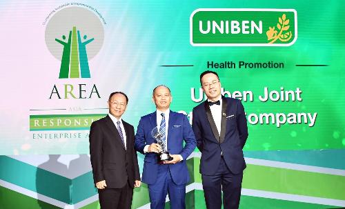 Uniben đạt giải 'Doanh nghiệp trách nhiệm châu Á'