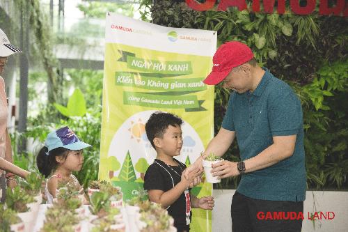 Gamuda Land tổ chức Ngày hội xanh tại CLB Gamuda Gardens