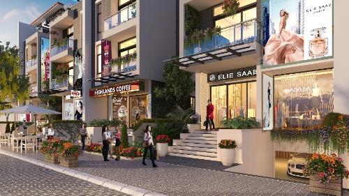 Cơ hội khám phá Milan khi mua Shop villa Imperia Garden