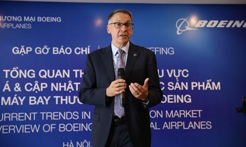 Boeing kỳ vọng vào thị trường hàng không Việt
