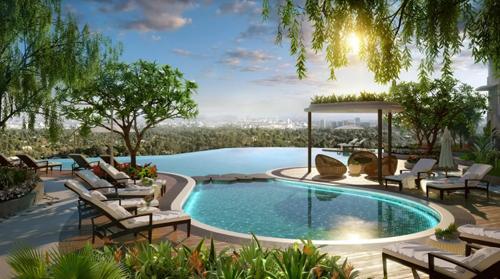 Trải nghiệm không gian sống xanh tại The Zen Residence