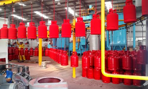PVGas South mạnh tay đầu tư công nghệ sản xuất bình khí gas