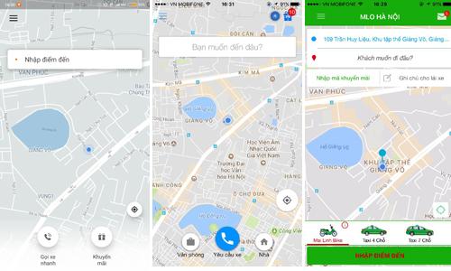 Ứng dụng gọi xe Việt khó thay chân Uber đấu với Grab