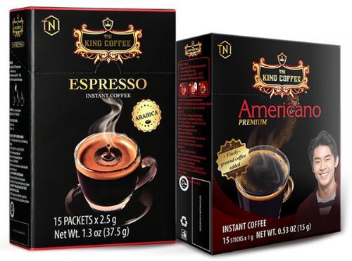 King Coffee tung dòng sản phẩm đặc biệt cho mùa World Cup