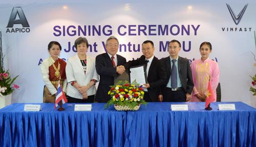 VinFast bắt tay doanh nghiệp Thái Lan sản xuất thân vỏ xe