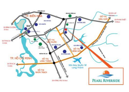 Dự án biệt thự kiểu resort ven sông quy mô 118 ha tại Đồng Nai