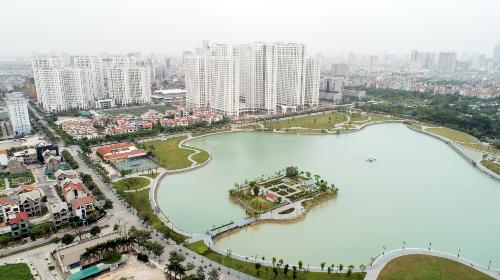 Không gian sống xanh ở chung cư An Bình City