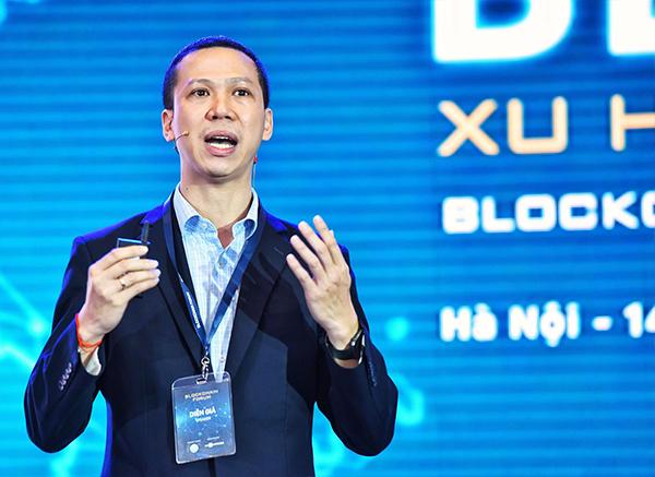 Đỗ Văn Long - Giám đốc vùng Infinity Blockchain Labs.
