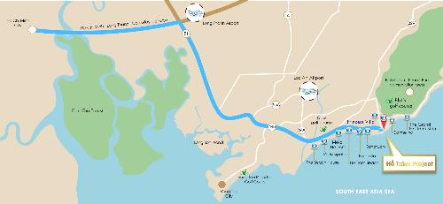 Công bố dự án đất nền ven biển Las Vegas Town Hồ Tràm