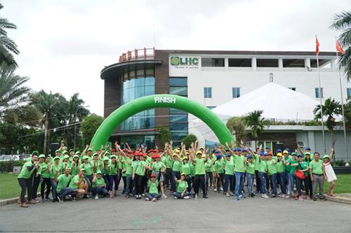 Khu công nghiệp Long Hậu tổ chức chạy bộ vì môi trường