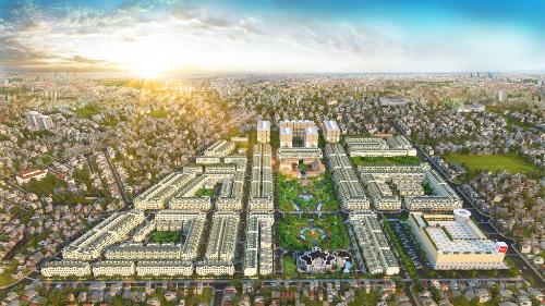 Có diện tích lên đến 27 ha, Cityland Park Hills bao gồm gần 2.000 sản phẩm căn hộ cao tầng, villa, nhà phố, quy hoạch đồng bộ kiến trúc Châu Âu tân cổ điển.