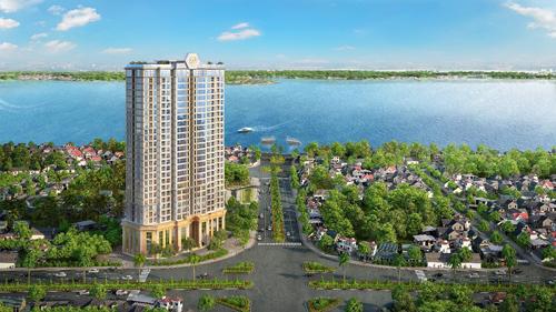 Tân Hoàng Minh ký quỹ dự án đất vàng Hồ Tây