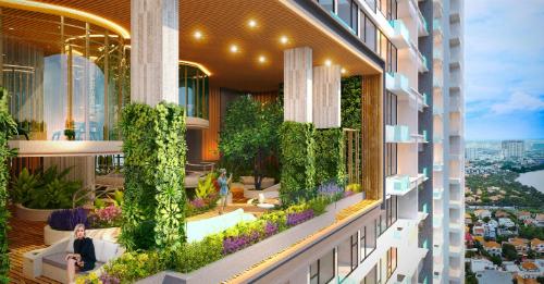 Điểm nhấn khu căn hộ cao cấp Q2 Thao Dien