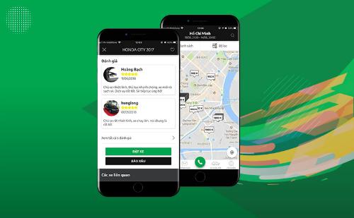 Ứng dụng có trên 500 xe đăng ký tham gia, hơn 4.000 lượt tải, 2.500 thành viên và trên 50.000 lượt truy cập hàng tháng.
