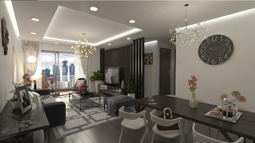 Eco Dream bàn giao căn hộ hoàn thiện nội thất