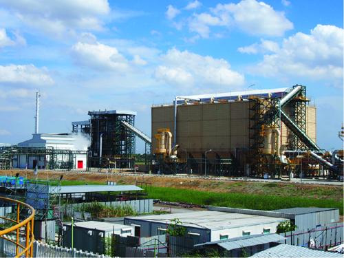 Nhà máy Ajinomoto dùng nhiên liệu từ vỏ trấu