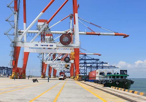 Nhiều cảng biển sẽ được Vinalines đầu tư khai thác. Ảnh minh họa: Đ.Loan