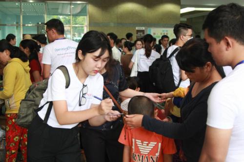 Đại diện của Tổ chức Operation Smile cảm ơn sự đồng hành và tài trợ của Ngân hàng NCB trong việc hỗ trợ di chuyển, ăn uống và lưu trú cho người nhà bệnh nhân trong thời gian khám và phẫu thuật ở TP HCM. Tổ chức hy vọng NCB sẽ tiếp tục cùng sát cánh cùng Operation Smile có lại nụ cười tươi sáng cho trẻ em Việt Nam trong tương lai.