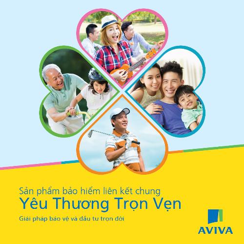 Yêu thương trọn vẹn đã nhận được sự chấp nhận tích cực từ KH và trở thành sản phẩm được chọn lọc nhiều nhất của Aviva Việt Nam.