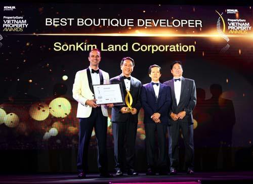 SonKim Land được vinh danh với dòng sản phẩm Luxury Boutique