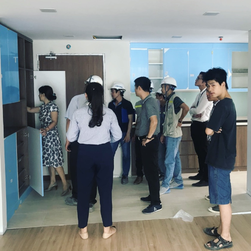 Trải nghiệm dự án Rivera Park Hà Nội cận ngày bàn giao