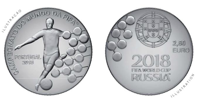 Bộ sưu tập tiền kỷ niệm World Cup 2018 một vài nước