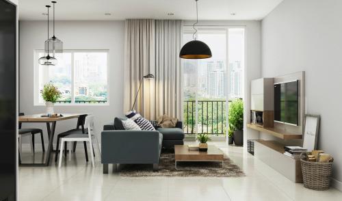 Dự án Viva Riverside vào giai đoạn hoàn thiện căn hộ